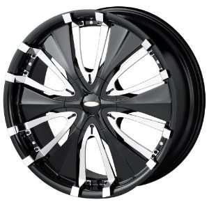20x8.5 Baccarat Passion (1130) (Black) Wheels/Rims 5x108/114.3 (1130B