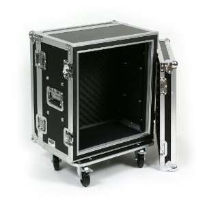 12 Space (12U) ATA Rack Effects Road Shock Mount Case (12