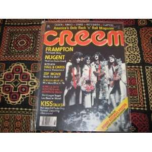 Creem Magazine (KISS , Kiss Talks , Merry Kissmas Poster