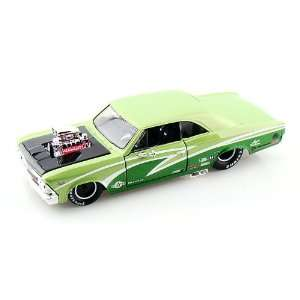 1966 Chevy Chevelle 396 Pro Street 1/24 Green: Toys