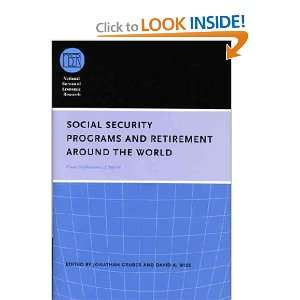Social Security and Retirement Around the World: Jonathan