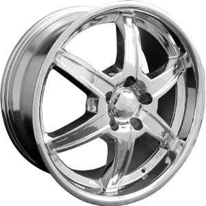 Chrysler 300M 1999 2004 718 Black Wheels Rims and Tires