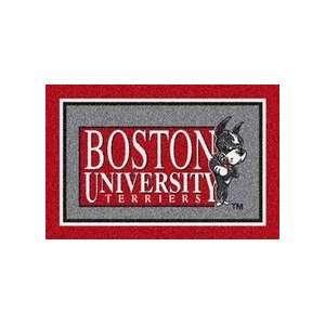 Boston Terriers 22 x 33 Team Door Mat: Sports & Outdoors