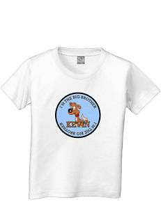 BIG BROTHER DOG DOGGY PUPPY CUTE T SHIRT PET