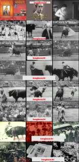 MANOLETE RARE FOOTAGE DVD BULLS TOROS BULLFIGHTING 1940. DVD VOL. 13