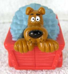 Hanna Barbera SCOOBY DOO Riding in Mine Car Mini Figure