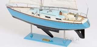 Bristol 35 Sailboat Wooden Yacht Model 29 Sloop Built Boat New