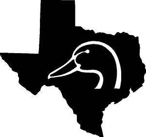 Texas Duck Hunting/Hunter Sticker,Graphic,Decal