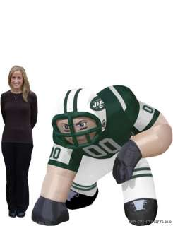 New York Jets NFL Bubba 5 Ft Inflatable Football Player 896332002863