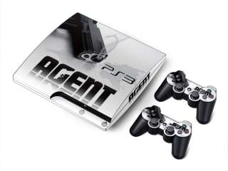 Vinyl Decal Skin Sticker Cover For Sony PS3 Slim & 2RC