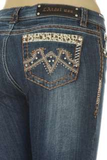 MISS LA IDOL LEOPARD BLING,JEANS sizes 1,3,5,7,9,11,13