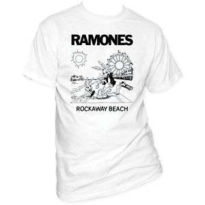 Ramones Rockaway Beach T shirt Men Sizes top rock away