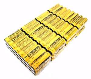 AA Cell 1.5 volt Alkaline Werker Battery 96 Pack (General AA 96PK WER