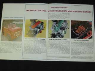 1965 Mercury Medium Duty Trucks Sales Brochure CDN