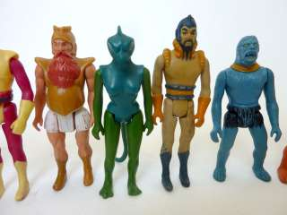 vintage FLASH GORDON COMPLETE SET 1979 vultan black hole buck rogers