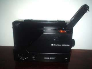 Bell & Howell 10MS Microstar Projector DUAL 8mm Variable Speed