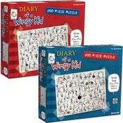 Product Image. Title: Diary of a Wimpy Kid 200 piece Puzzles Set