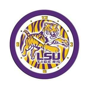 Louisiana State University Tigers NCAA Wall Clock