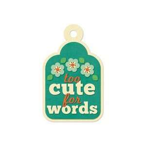 Keepers   Embossed Tags   Too Cute for Words Arts, Crafts & Sewing