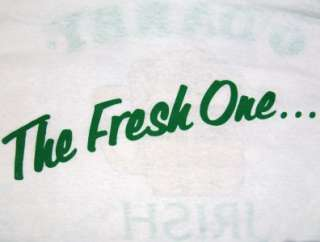 Vtg THE FRESH ONE ODARBY T SHIRT retro punk emo 80s