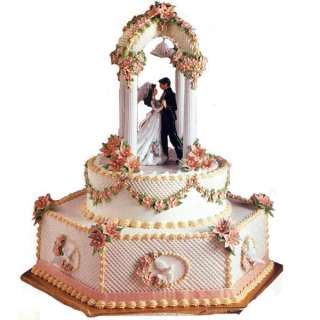 Wilton Tailored Tiers Wedding Cake Display Stand Set