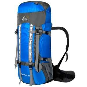 Blue 70l Outdoors Mountain Climbing Camping Travel