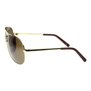 Metal Thin Frame Oversize Mirrored Aviator Sunglasses 1580 70mm