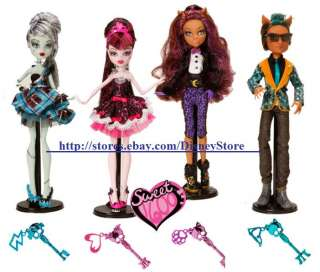 Monster High SWEET 1600 Dolls Draculaura Frankie Stein Clawdeen & /or
