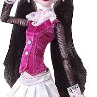 Monster High Draculaura Doll and Count Fabulous Pet