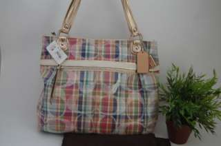 NWTCoach Poppy Madras Glam Multicolor 19611