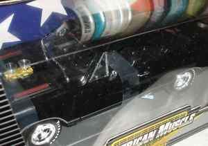 1969 PLYMOUTH BELVEDERE GTX STREET MACHINE BLACK 1/18