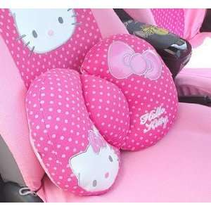 Hello Kitty Sanrio Comfortable Lumbar Back Cushion pink by H M Shop