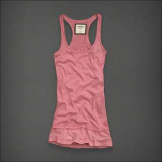 Picture 1 of Womens Abercrombie & Fitch Tessa Light Pink Tank Top