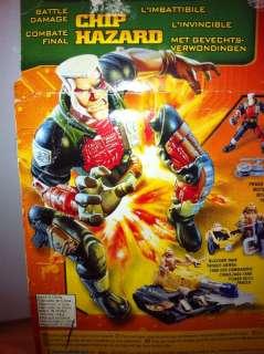 Small Soldiers Battle Damage CHIP HAZARD Hasbro Dreamworks 55150 1998