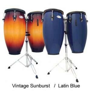 : LP Matador M846S VSB 11 Quinto & 11 3/4 Conga Set with Double Stand
