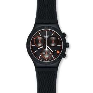 Swatch Irony Chrono Burning Eye Black Dial Unisex watch