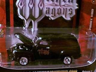 Johnny Lightning 1950 CHEVY PANEL VAN Black 50 Chevrolet Panel Truck