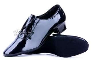 New Mens Black Shoes Rock Retro Dance Swing Club Costume Halloween SZ