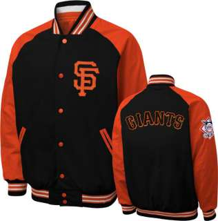 San Francisco Giants Snap Front Varsity Reversible Jacket
