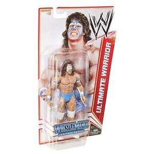 ULTIMATE WARRIOR WWE MATTEL BASIC SERIES 16 WRESTLEMANIA ACTION FIGURE