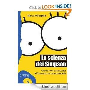 La scienza dei Simpson (Galápagos) (Italian Edition): Marco Malaspina