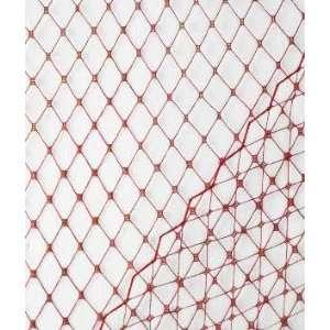 Wine Russian Netting Fabric: Arts, Crafts & Sewing