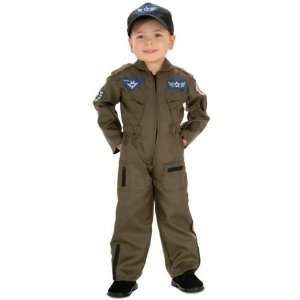 Air Force Fighter Pilot Childs Costume   Small Toys