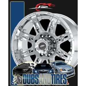 com 20 Inch 20x10 DALE EARNHARDT JR wheels CANNON Chrome wheels rims