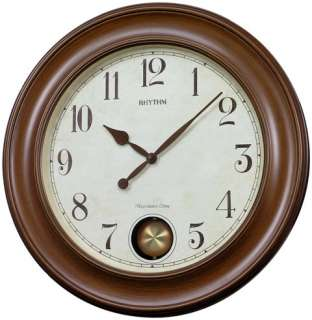 RHYTHM WSM Grand Master Wooden Musical Clock CMJ521UR06