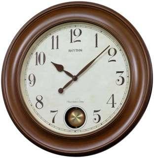 RHYTHM WSM Grand Master Wooden Musical Clock CMJ521UR06
