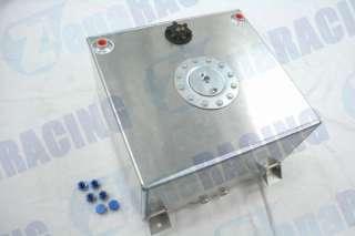 Alloy Fuel Tank 10 Gallon w/ Sender Racing Cap FOAM 40L