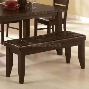 Bench with Tufted Upholstered Seat by Coaster: Furniture & Decor