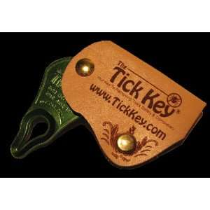 Designer Leather Tick Key Case Complete with The Tick Key
