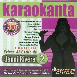 KAR 4380   Al Estilo de Jenni Rivera   II Spanish CDG: Everything Else